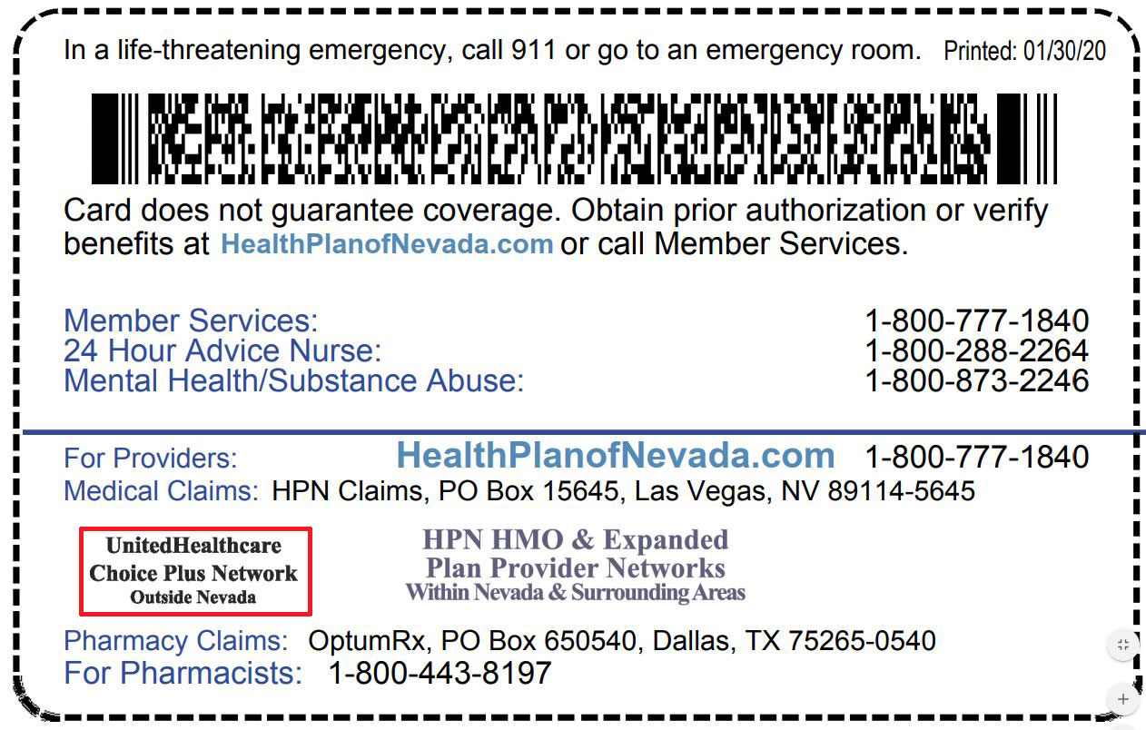 Pos Employer Plans Doctor Or Provider A Member